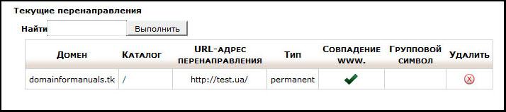 Перенаправление сайта через dns