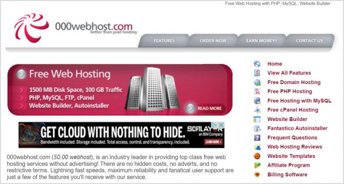 Взломан хостинг 000Webhost – похищены данные 13,5 млн пользователей