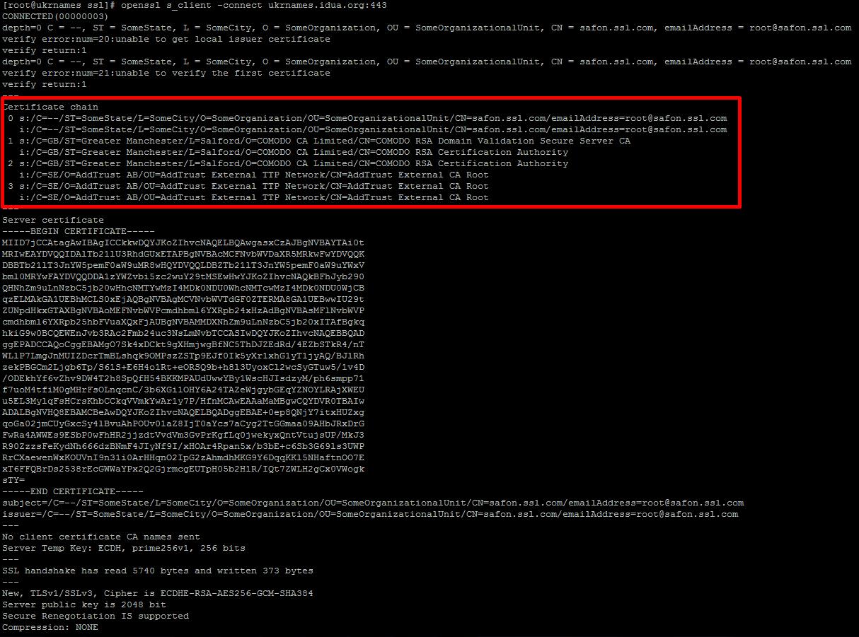 Установка ssl соединения openssl разработка сайта, продвижение