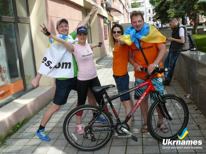 Команда Ukrnames за здоровый образ жизни!