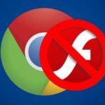 В Google Chrome прекращается поддержка Adobe Flash