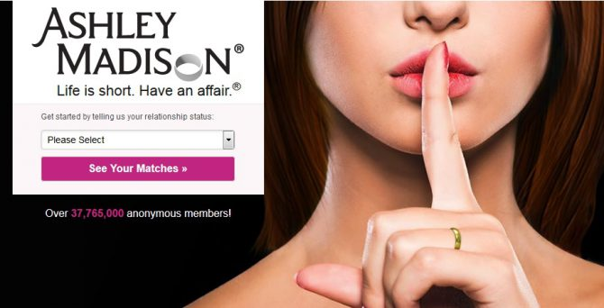 Разбирательства с веб-сайтом Ashley Madison продолжаются