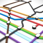 Nominet представил карту new gTLD доменов в виде схемы метро