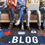 Домен .blog рвется в лидеры