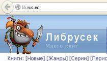 Правообладатели настояли на разделегировании домена lib.rus.ec