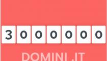Регистрации в итальянском национальном домене .it преодолели отметку в 3 млн