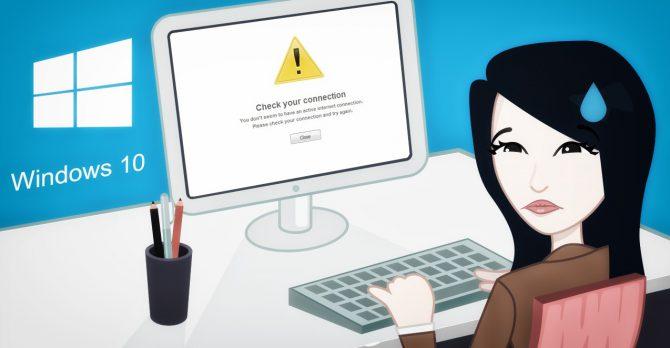 Обновление Windows вызывает проблемы с доступом в интернет