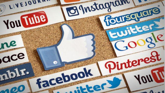 В 2016 году использование социальных медиа выросло на 21%