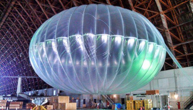 Alphabet отказался от идеи обеспечить повсеместный доступ в интернет при помощи воздушных шаров