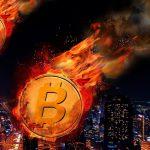Обвал криптовалют: Bitcoin упал почти на 40%, Ethereum – на 20%.