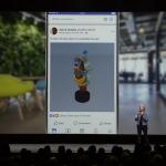 3D сообщения на Facebook и новые способы поделиться
