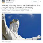 Иисус, раздающий wifi