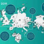 Доменна карта світу