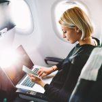 Українці зможуть користуватися Інтернетом навіть під час польоту в літаку